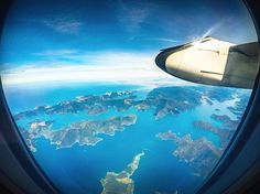 """Marlborough Sounds, New Zealand by Kyle Te Kiwi - Bare Kiwi (@barekiwi) on Instagram: """"I'll say it once and I'll say it a million times more. Always...ALWAYS get the window seat in New Zealand #googleguides #marlboroughsounds"""