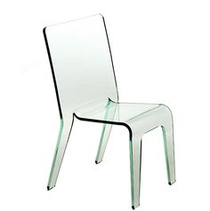 FOLD- Monolithic acrylic chair Acrylic Chair, Chairs, Furniture, Home Decor, Decoration Home, Room Decor, Home Furnishings, Stool, Side Chairs
