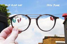 Flip Flop Day // June 17 // #DoubleBridge RB7097 // neverhi.de/4uhj