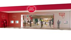 Post office design google post office pinterest post post office reveals digital concept store inspired by apple and argos solutioingenieria Choice Image