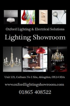 Visit our showroom for a large variety of lighting and expert advice - We are always happy to help :-)   http://www.oxfordlightingshowroom.com/contact-us