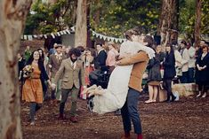 Inspire Wedding | Woods | Inspiration, forest, tree, woodland - rae, shane - rustic, vintage wedding in donnelly river, western australia - Leah Kua