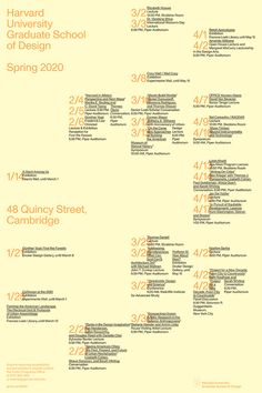GSD Events Poster Spring 2020 Harvard Gsd, Events, Spring, Poster, Posters, Movie Posters