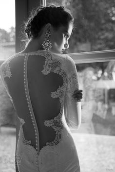 berta bridal 2014 wedding dress long sleeves illusion back