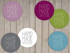 Set de etiquetas hecho a mano digitales por LaVieEnRoseDesigns, €3.50