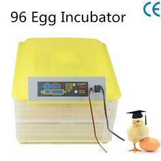 96 Egg Incubator Digital Automatic Tuner Egg Hatching Equipment Eggs Incubator Kit For Hatching DL-96A #Affiliate