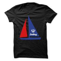 sailing, sailboat, water, watersports, crown, funny, fun, summer, sailing shirt, sports, travel, vacation