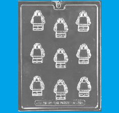 Building Block Lego Man Candy Mold