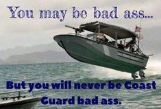 That's gonna hurt! Coast Guard Boats, Us Coast Guard, Coast Gaurd, Coast Guard Cutter, American Soldiers, Above And Beyond, Military History, Moth, Badass