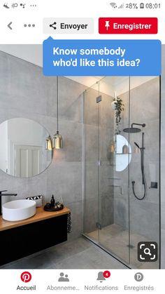 Master Bathroom Shower, Bathroom Inspo, Bathroom Design Small, Kitchen Design, Beach House Decor, Home Decor, House Design, Decoration, Coast