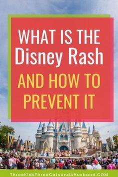 What is the Disney Rash? (Symptoms, prevention, and treatment) Disney World Secrets, Disney World Hotels, Disney World Food, Disney World Magic Kingdom, Walt Disney World Vacations, Disney World Tips And Tricks, Disney Trips, Disney Parks, Disney On A Budget