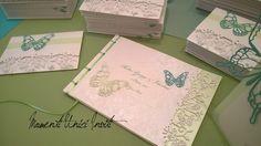 Partecipazione invito e guest book farfalle - Wedding invitation, guest book butterfly
