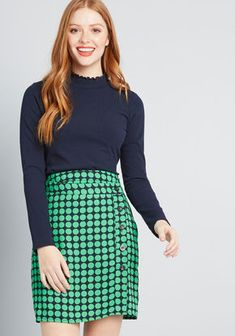 New Arrival Clothing for Women. Workplace Pep Mini Skirt in XS - Pencil Skirt  Knee Length 78b61513300c