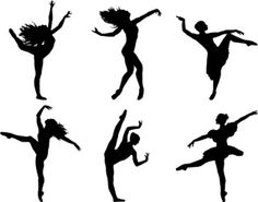 Dancer silhouettes would love to have them on my walls
