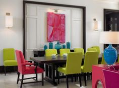 Colors Of Nature: Modern Interiors With A Splash Of Turquoise And ...