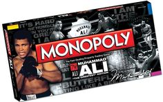 "Monopoly Muhammad Ali ""The Greatest"" Edition board game"
