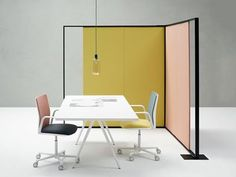 PARENTESIT FREESTANDING | Fabric workstation screen