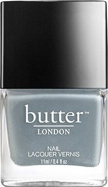 A powdery, periwinkle-blue nail lacquer that's slightly on the grey side. Lady Muck is infused with pearl pigment for a soft, sexy sheen.