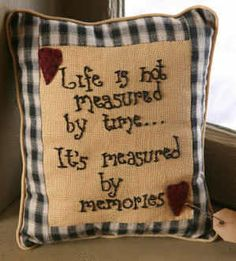 Life is not Measures Pillow - A-8P0098