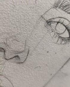 Sketch For Girls Easy Sad Girl Drawing Easy Easy Drawings Of Sketches Of Sad . Pencil Drawing Tutorials, Pencil Art Drawings, Art Drawings Sketches, Sketch Art, Art Tutorials, Girl Sketch, Hard Drawings, Couple Drawings, Drawings Of Angels