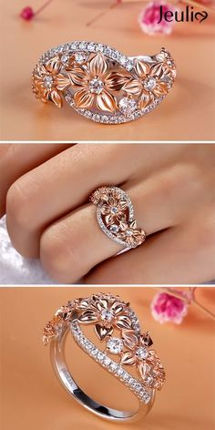 Details about  /14K Yellow Gold Over 925 Silver Diamond L Ring Jewelry Gift For Her Ct 0.05