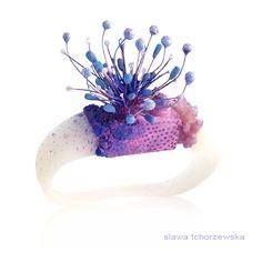#unique #contemporary #jewellery #detail #design #slawatchorzewska #bracelet #silicon #magic #imagination