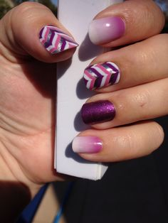 Love purple! Gala, Orchid Ombre & Fizzy Grape. Jamberry nails www.marlenelang.jamberrynails.net
