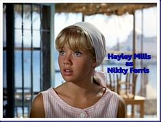 Hayley Mills in The Moon Spinners, I loved this film.