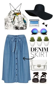 """""""Light Wash"""" by mplusk ❤ liked on Polyvore"""