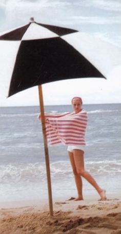 Grace Kelly in Jamaica, 1954, by Howell Conant