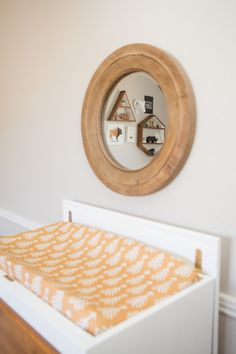 Where boho meets modern is just where you'll find this nursery!