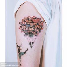 """Fly Away"" by Christian Schloe (in progress) Fly Away Tattoo, I Tattoo, Little Tattoos, Tattoos For Guys, Explore Tattoo, Upper Arm Tattoos, Flies Away, Word Tattoos, Tattoo Designs"