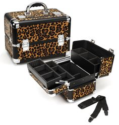 Professional Makeup Case - Leopard