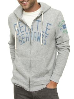 Junk Food Clothing NEW NFL Collection  NFL Seattle Seahawks Sunday Hoodie  $72  www.junkfoodclothing.com