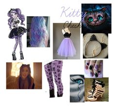 """""""Kitty Cheshire"""" by tiffaniewhite101 ❤ liked on Polyvore featuring Burton"""
