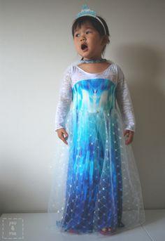 Frozen's Elsa-Inspired Dress