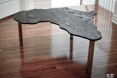 The Africa Table Other shapes available by TheodoreGallery on Etsy, $135.00