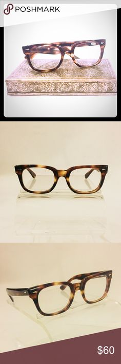 Vintage American Optical Frames NWT NWT Vintage Wayfarer style tortoise shell frames that never go out of style. Made by American Optical, pioneers of modern eyewear. In business since the early 1900's and supplying the US Armed forces since World War II American Optical Accessories Glasses