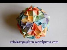 Infinity Kusudama Tutorial  インフィニティー(くす玉)の作り方 - YouTube