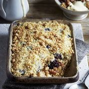 This apple and carom seed crumble, from chef Vivek Singh, is a wonderfully fragrant adaptation of the British classic