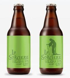 Cerveja La Sorciere Belgian IPA, estilo Belgian IPA, produzida por Cervejaria Urbana, Brasil. 7% ABV de álcool.