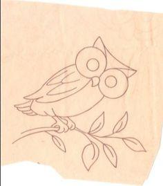 Suestreehouse: Hoo Hoo the Owl for Embroidery