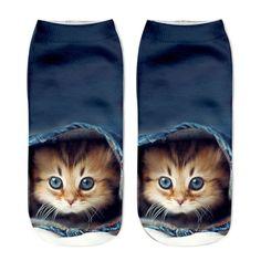 Mega Cute Cat Sock