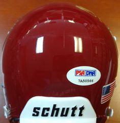 "Charles White Autographed USC Trojans Mini Helmet """"79 Heisman"""" PSA/DNA"