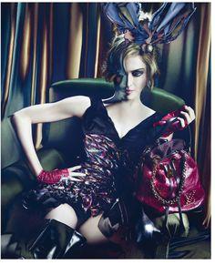 Madonna for Luis Vuitton.