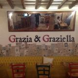 Grazia & Graziella Ristorante, hosteria, pizzeria, cocktail bar e caffetteria i  zona Trastevere wifi e tavoli all'aperto Largo M.D. Fumasoni Biondi, 5, Roma, Italia