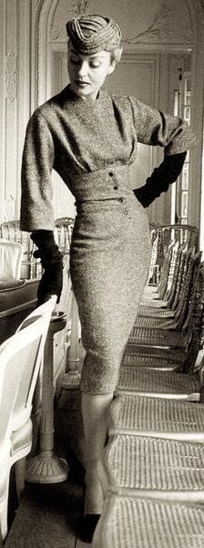 Dress Design Patterns, Sewing Patterns, Bolero Pattern, Pattern Dress, Classic Fashion, 50 Fashion, Fashion Vintage, Retro Fashion, Classic Style