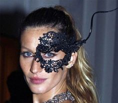 gisele-mask by {this is glamorous}, via Flickr