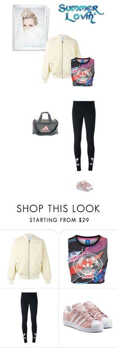 """#8083 - adidas Originals"" by pretty-girl-in-fashion ❤ liked on Polyvore featuring adidas Originals, adidas, sporty, summerloving and AdidasOriginals"