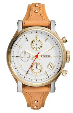 LOVING this fossil watch.  The band is so cool and I like the big face!  Only $125.  Would make a great gift!